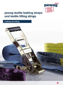 Catálogo Pewag Cintas de elevação_amarração de cargas e acessórios