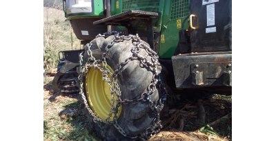 Correntes para a tração de pneus